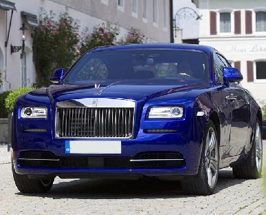 Rolls Royce Ghost - Blue Hire